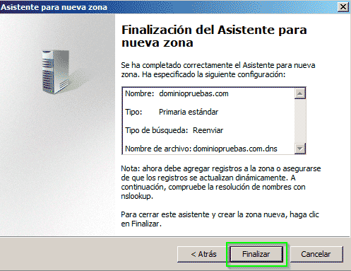 Servidor DNS Windows 2008r2