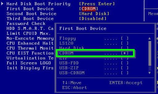 configurar bios windows 10 para arrancar desde usb