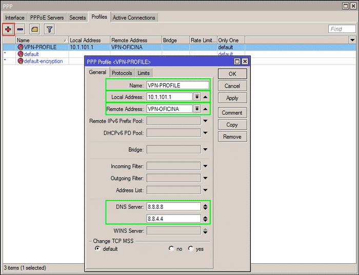 ➥ Cómo crear una VPN PPTP con MikroTik y RouterOS