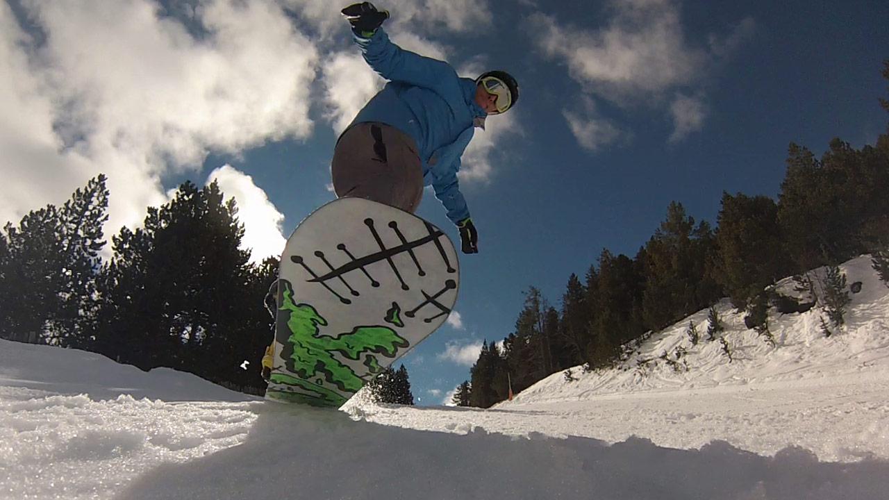 Raúl Prieto Fernández Snowboard 2
