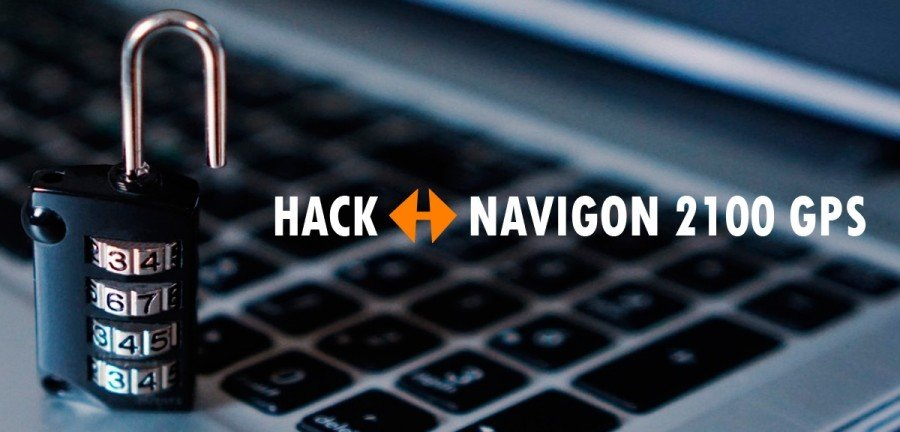 ☠ Hack Navigon 2100 GPS