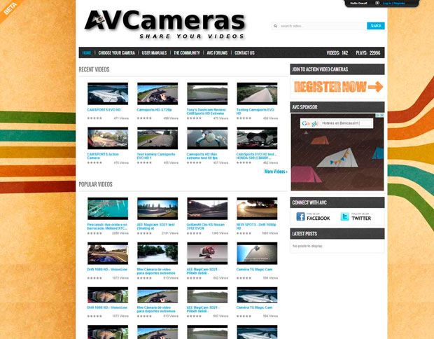 ✨ ActionVideoCameras