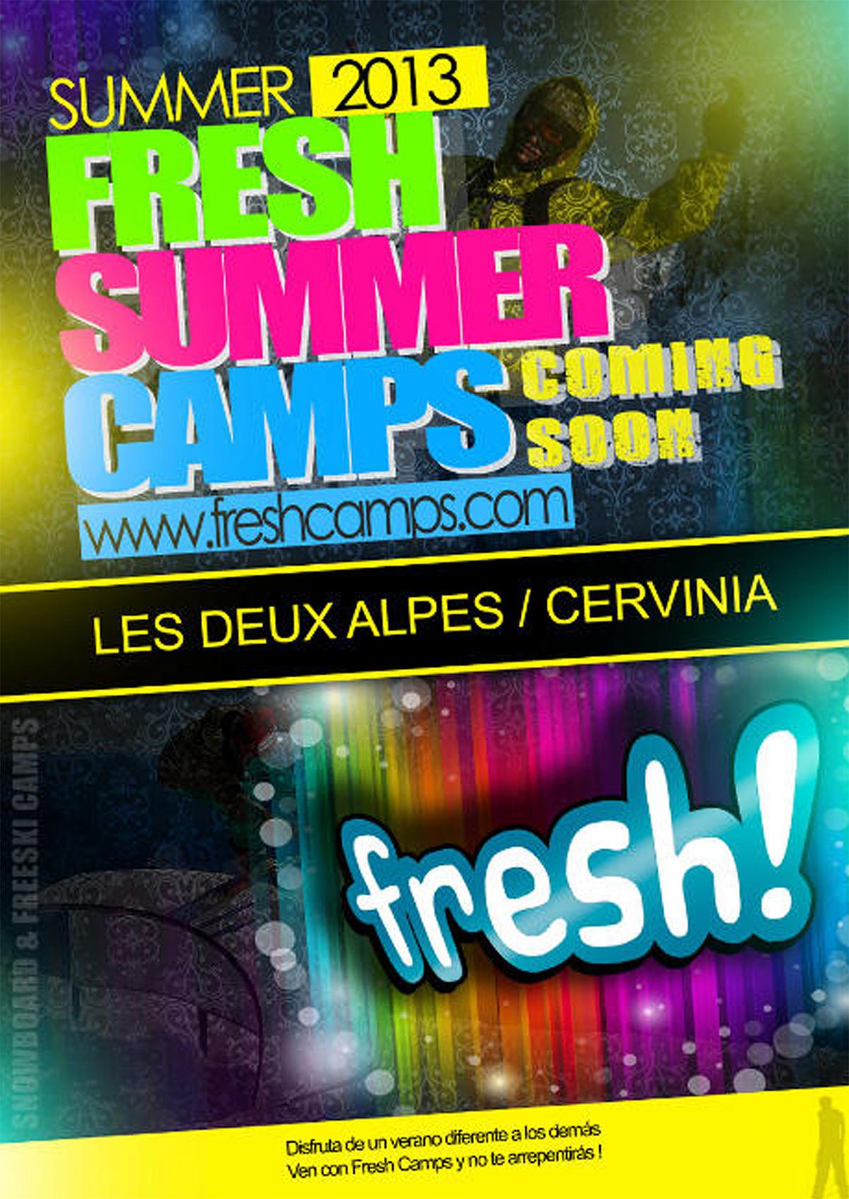 ✨ Flyer Freshcamps 2013