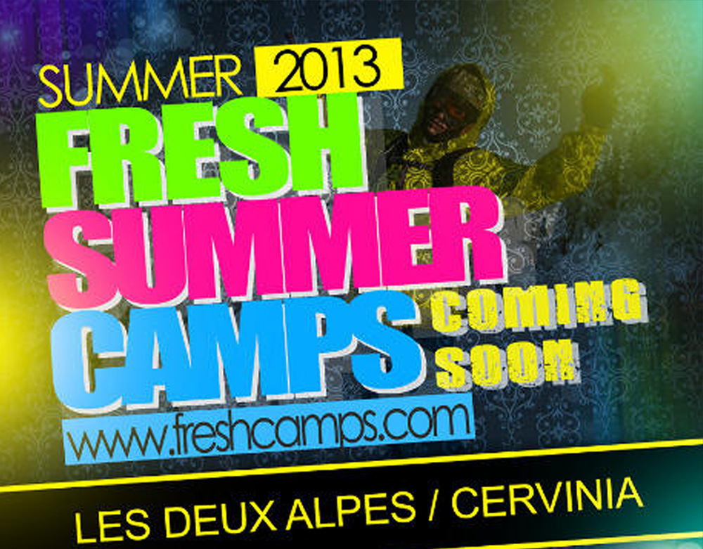 ✨ Flyer Freshcamps 2013