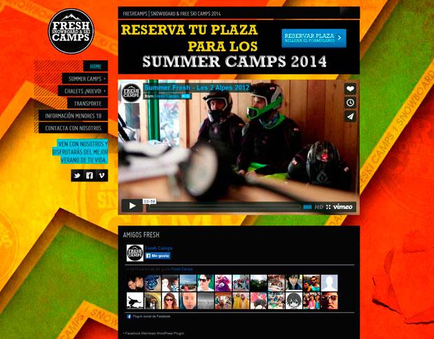 ✨ Freshcamps Verano 2014